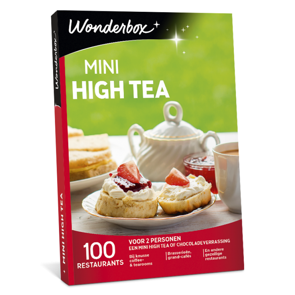 Wonderbox - Mini High Tea