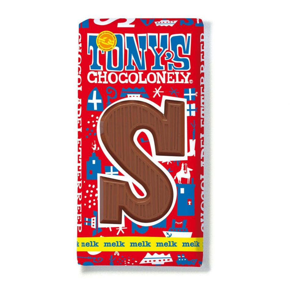 Tony's Chocolonely Letterreep Melk